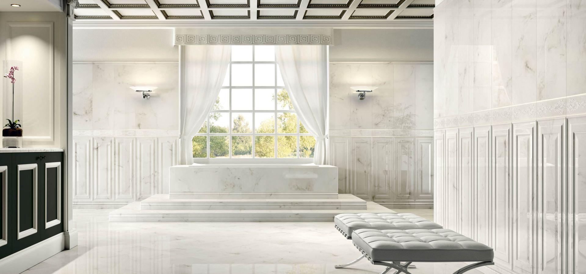 Crystal marble valentino by ceramiche piemme - Boiserie bagno valentino ...