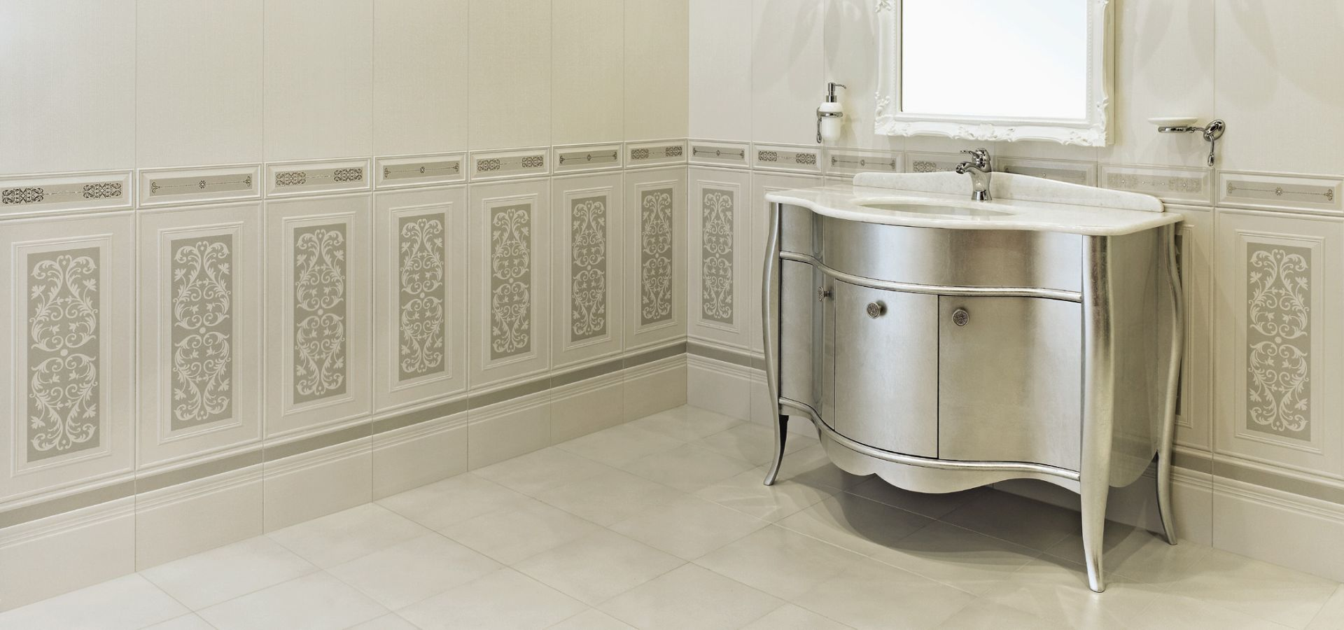 Boiserie bagno ceramica great ikea vasca da bagno for Boiserie in legno ikea